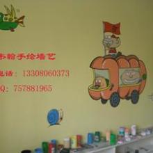 供应四川成都幼儿园墙体彩绘