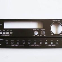 供应家庭功放面板 广播功放铝面板激光刻字打标刻号刻图案字符加工