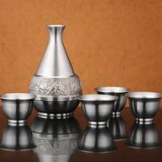 锡酒壶锡酒杯刻字打标雕刻文字图案图片
