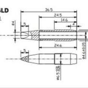 创新高C10-4LD无铅烙铁头图片
