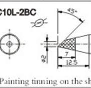 C10L-2BC无铅烙铁头图片