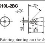 供应C10L-2BC无铅烙铁头创新高CXG系列烙铁咀