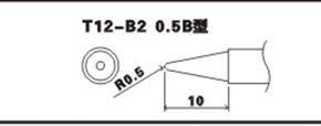 HAKKO白光T12-B2烙铁头图片