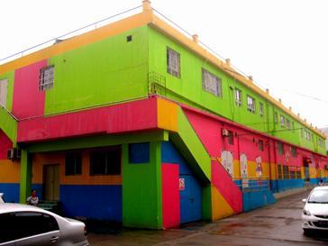 幼儿园外墙装饰-七彩