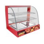 保湿弧形保温柜小型食品保温展示柜图片