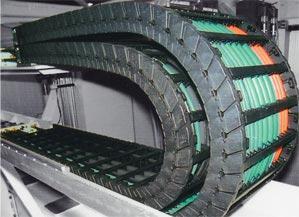 供应机床穿线拖链TWC型工程塑料拖链