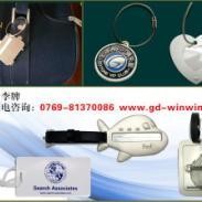 行李牌厂家PVC透明软胶行李牌图片