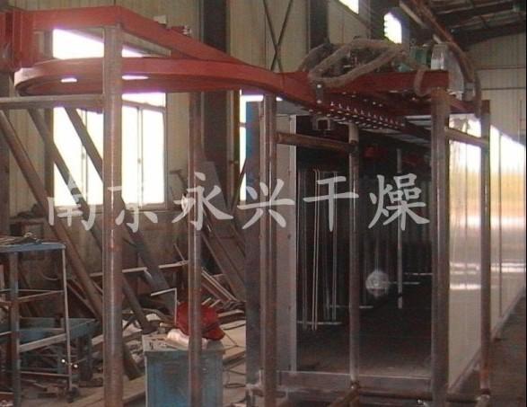 供应大型悬挂式涂装烘房(南京永兴