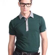 供应新款时尚男式翻领短袖T恤男装批发原单批发