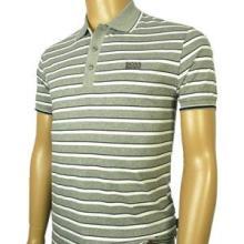 供应色织彩条纹纯棉短袖男装T恤批发批发