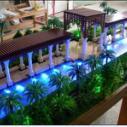 广东惠州园林模型园林设计模型图片