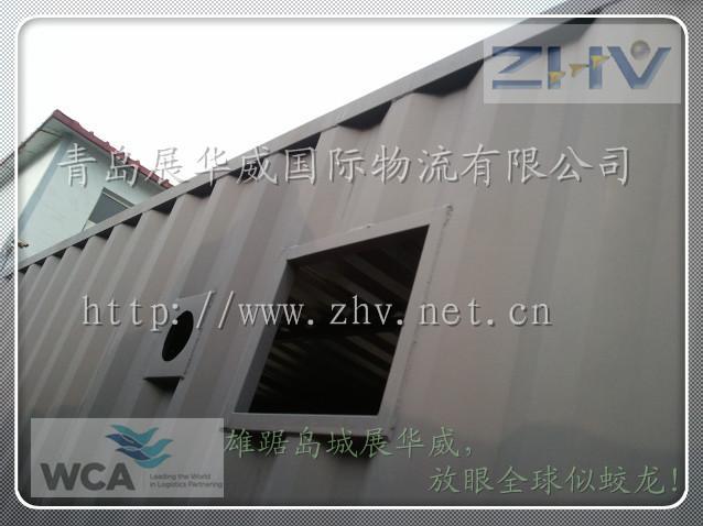供应移动集装箱式沐浴房沐浴室国际海运