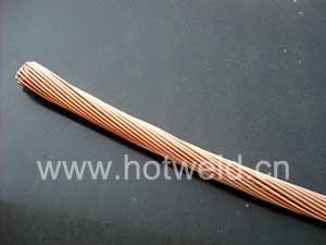 随时发货铜包钢绞线图片