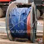 放热焊接焊接铜包钢绞线图片