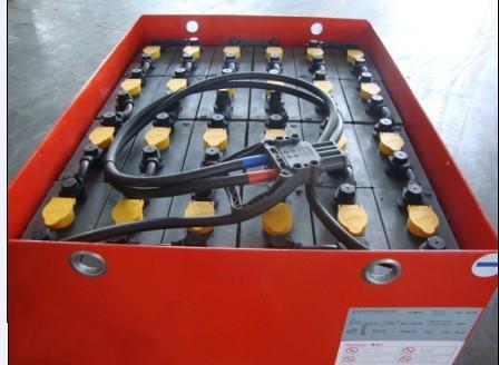 供应西藏杭叉CPD15电动叉车电瓶图片