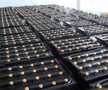 供应山东杭叉CPD15电动叉车电瓶图片