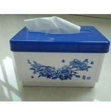 供应青花折叠纸巾抽