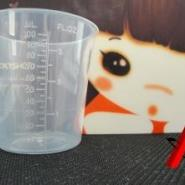 100ml量杯/塑料量杯图片