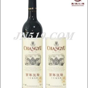 苏州张裕百年干红葡萄酒图片