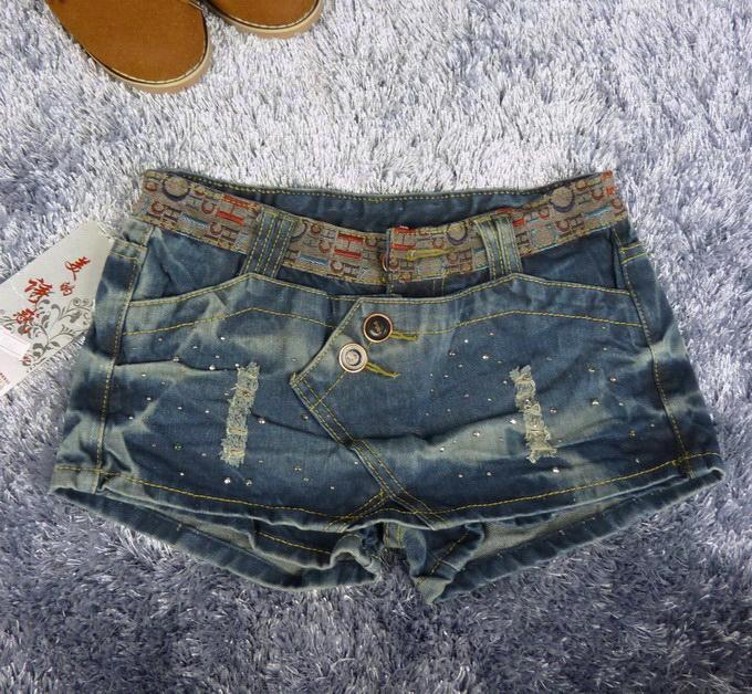 女士短裤图片|女士短裤样板图|2011夏新款时尚女士