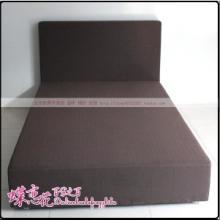 供应厂家直销灰色布艺床
