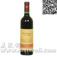 长城精品解百纳干红葡萄酒图片