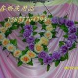 供应武汉婚庆道具气模拱门厂家南阳永鑫 泡泡机 香槟塔 烛台 背景