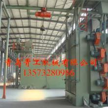 供应QG378单吊钩抛丸机青工设备放心图片