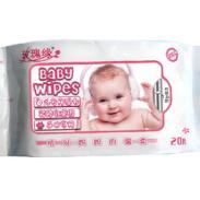 20片婴儿润肤湿巾图片