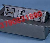 供应多媒体线盒桌面信息接口桌面插桌面信息连接器桌面接线盒