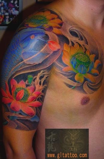 深圳市最好的纹身店在哪里/古龙图片|深圳市最好的店