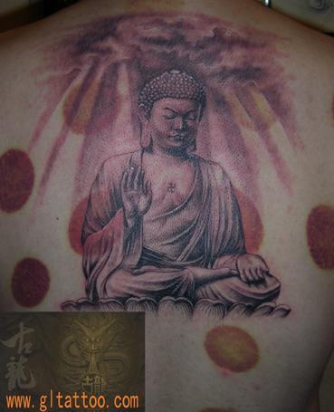 【2015】观音佛像纹身手稿图片
