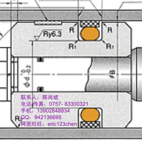 供应注塑机油封日本NOKSPGO密封件