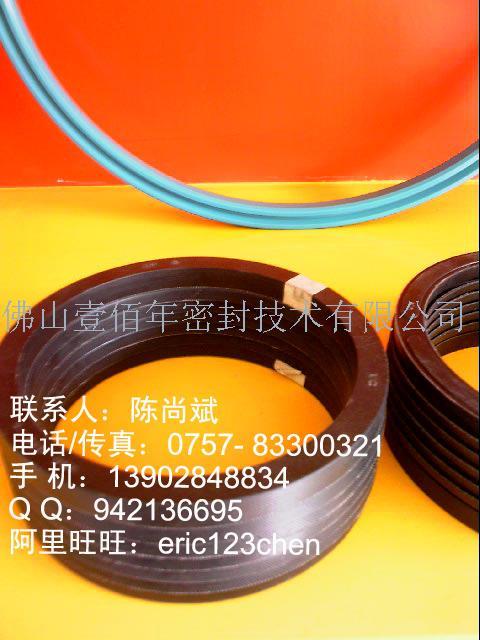 供应注塑机油封V型夹布圈密封件