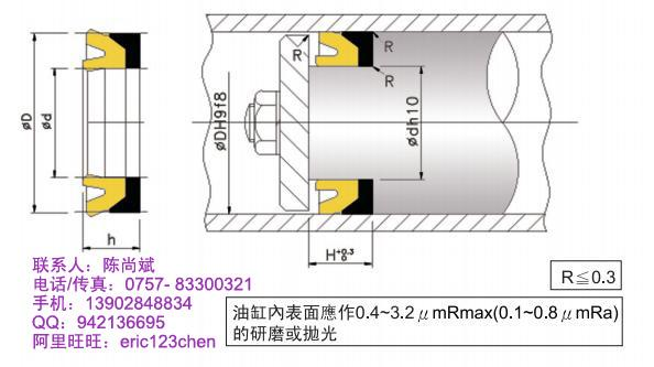 供应注塑机油封鼎基DZD-8密封件