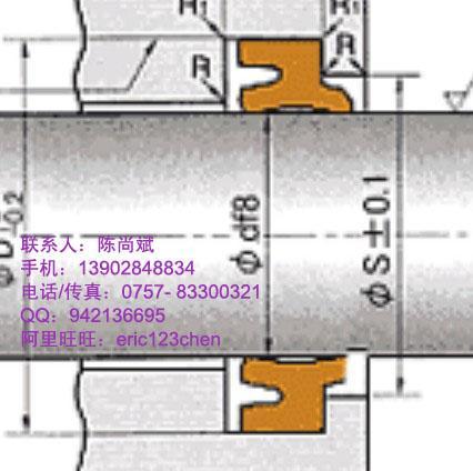 供应龙工液压机械油封日本NOK LBH密封件,防尘油封