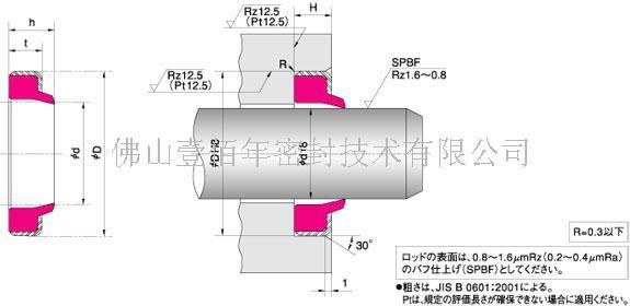 供应注塑机油封日本NOKDKI密封件