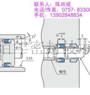 液压油缸日本阪上MYA密封件图片/液压油缸日本阪上MYA密封件样板图 (1)