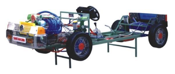 透明全车制动系统模型