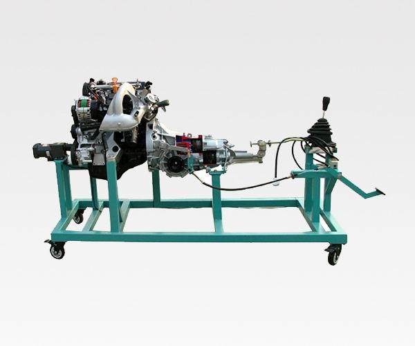 桑塔纳发动机变速器解剖模型型号qajp2000指定采用济南奇安高清图片