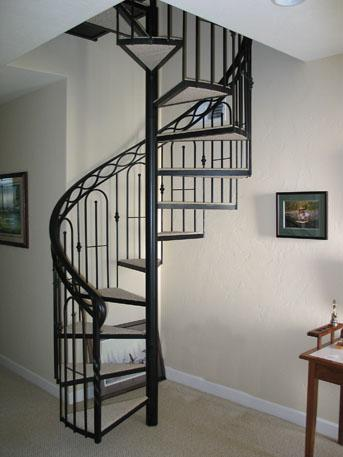 铁艺楼梯6图片