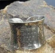 佛教戒指图案戒指图片