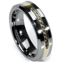 供应毕业戒指钨钢戒指情侣镶石戒指
