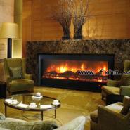 成都酒店壁炉设计图片