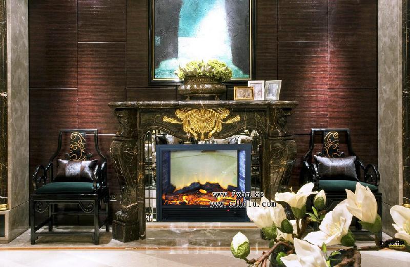 供应墙砖火焰欧壁火品牌伏羲品牌壁炉