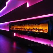 迪厅影视酒吧酒店录影棚火壁炉图片