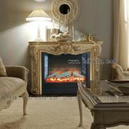 奢侈装修伏羲电壁炉欧式装饰图片