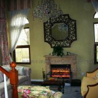 供应纳帕溪谷别墅电壁炉效果;别墅设计;别墅装修;别墅壁炉;FoSi炉