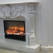 四川成都温江花土小区壁炉安装案例图片