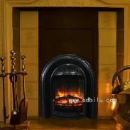 墙砖炉膛真火焰电壁炉图片